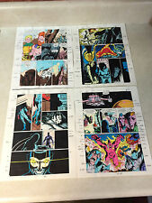 JUSTICE LEAGUE EUROPE #31 ORIGINAL ART color guides 12 pages FLASH, METAMORPHO
