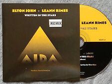 """ELTON JOHN – """"WRITTEN IN THE STARS"""" ONLY SPANISH PROMOTIONAL CD"""