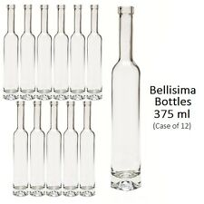 Empty Limoncello Bottles 375 ml Bellisima/Bordeaux - Case of 12 - Homebrew/Wine