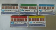 Gutta Percha Points Accessory HTM M FM F MF FF Box of 120 Dental Root Canal