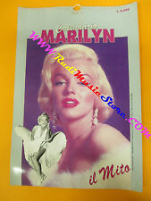 CALENDARIO CALENDAR MARILYN MONROE il mito 1993 1994 no cd dvd lp mc vhs live