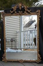 "NWOT Hickory Manor House Bevelled Gold Wall Mirror 39x26"" Multiple Qtys"