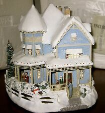 Thomas Kinkade- Holiday Bed and Breakfast house in original box
