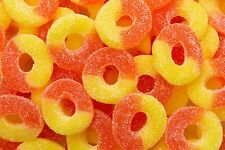 Albanese   Gummy  Peach Rings  4.5  lbs premium candy( factory sealed bag)