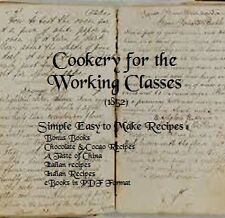 CD- 240 Simple Recipes for the Working Class - 1852) - 5 eBooks (Resell Rights)