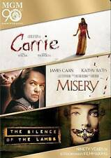 CARRIE/MISERY/THE SILENCE OF THE LAMBS (NEW DVD)