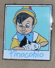 DISNEY PIN PINOCCHIO AUTOGRAPH PHOTO PHOTOGRAPHY MYSTERY CAMERA RARE LR