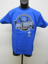 NEW MIDDLE TENNESSEE BLUE RAIDERS YOUTH S SMALL T-Shirt made by J. AMERICA  25Zi
