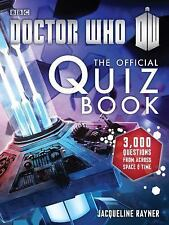 Doctor Who - The Official Quiz Book by Jacqueline Rayner (Paper Back) FREE SHIP