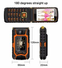 iii phone MAFAM Land Flip phone Rover X9 Double dual Screen shockproof Dual SIM