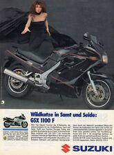 SUZUKI GSX 1100 F    'Wildkatze in Samt und Seide'