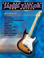 James Taylor The New Best Of For Guitar Easy Tab Book NEW!
