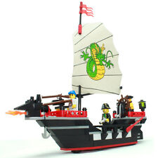 New Building Blocks Toy Caribbean Pirate Ship Boat Gift #301 211pcs