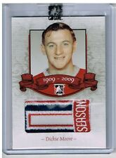 08-09 ITG Bleu Blanc et Rouge 100 Seasons Patch RED 3/5 Made! Dickie MOORE #10