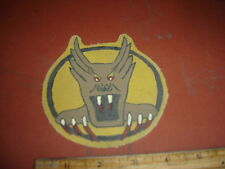 WWII USAAF SCREAMING DEMON 7 TH FIGHTER SQDN 49 FG 5 AAF FLIGHT JACKET  PATCH