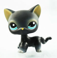 2'' Black Cat Blue Eyes  Littlest Pet Shop LPS #994 Animals Girl toys Kids Toys