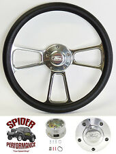 "1965-1969 Fairlane Galaxie 500 steering wheel FORD 13 3/4"" POLISHED BILLET"