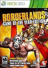 Borderlands Game of the Year Edition -- Xbox 360 -- VERY GOOD CONDITION