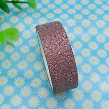 Hot 3m Glitter Washi Paper Masking Adhesive Tape Label DIY Craft Decorative 01