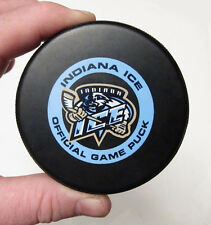 Official Indiana Ice Hockey Team Game Puck Hockey Puck