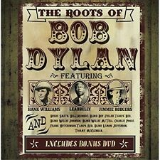 THE ROOTS OF BOB DYLAN - Leadbelly, Muddy Waters, Hank Williams - 3 CD+DVD NEW+