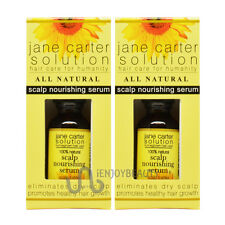 "Jane Carter Scalp Nourishing Serum 1oz ""Pack of 2"" w/ Free Roll-on Body Oil"