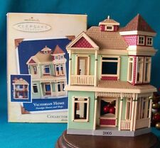 Hallmark Ornament 2005 VICTORIAN HOME Nostalgic Houses and Shops #22 in Serie