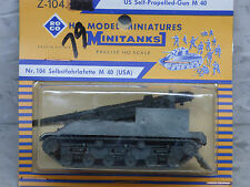 Roco / Herpa  Minitanks (NEW) Modern US M-40 Self Propelled 155mm Gun Lot #815