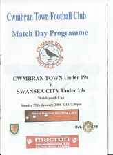 CWMBRAN TOWN v SWANSEA CITY  2005/06  Welsh Youth Cup