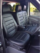 IVECO DAILY IV VAN SEAT COVERS MADE TO MEASURE BLACK QUILTED A120A