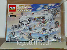 NEW LEGO Star Wars™ 75098 Assault on Hoth INSTRUCTION BOOK ONLY no parts!