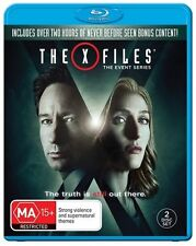 The X-Files Event Series 2016 (Blu-ray, 2016, 2-Disc Set)