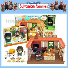 SYLVANIAN FAMILIES BRICK OVEN BAKERY + PIZZA DELIVERY SET COMBO DEAL 5237 5238