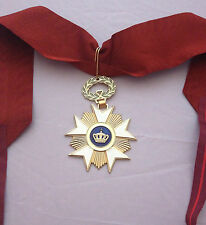 MUSEUM QUALITY BELGIAN ORDER OF THE CROWN 1897