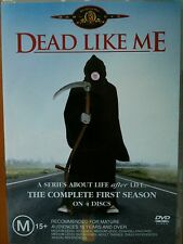 DEAD LIKE ME ~ COMPLETE FIRST SEASON 1 ONE ~ 4 DVD MINT SET ~ FREE POST