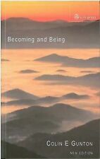 Becoming and Being: The Doctrine of God in Charles Hartshorne and Karl Barth, Gu