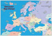 Radio amatoriale collocazione Mappa dell'Europa