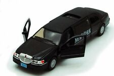 1999 Lincoln Town Car New York Stretch Limousine Taxi 1:38 diecast Black