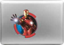 IronMan Super Hero Vintage Colored MAC Laptop Decal Sticker For 13 15 17 Inch