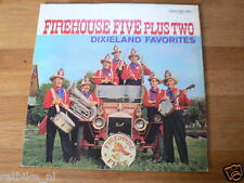 LP RECORD VINYL COVER OLDTIMER FIRETRUCK FIREHOUSE FIVE PLUS TWO