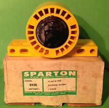 NIB,Vintage, Sparton Reverse/Back-Up Alarm. Model BK80. 12V and 24V Application.