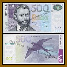 Estonia 500 Krooni, 2007 P-89 Unc