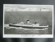 "CPA MARINE : BRITISH RAILWAYS T.S.S. "" INVICTA "" - DATE DU 16 OCTOBRE 1956 - TBE"