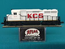 47505 Atlas N Scale GP30 Kansas City Southern NIB