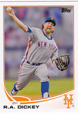 2013 Topps #43 R.A. Dickey New York Mets