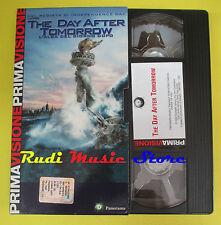 film VHS THE DAY AFTER TOMORROW L'alba del giorno dopo PANORAMA(F70) no dvd