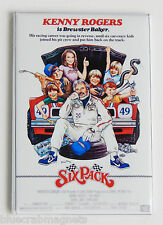 Six Pack FRIDGE MAGNET (2.5 x 3.5 inches) movie poster kenny rogers sixpack