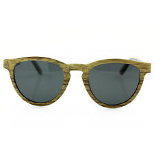 Wooden Sunglasses - Bamboo Frames with Polarized lenses -by Woodenley Zebra