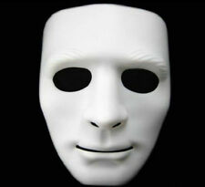 Creepy White Full Face Cosplay Halloween Party Costume Mask Theater Prop Hot