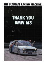 BMW E30 M3 DTM  Motorsport poster print # 3